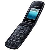 SAMSUNG Caramel [GT-E1272] - Black - Handphone Gsm